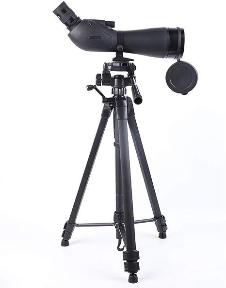 XUMENG Profesional Telescopio Terrestre 20-60X80 FMC Totalmente Multi Revestido BAK4 Porro Prisma Relleno De Nitrógeno Resistente Al Agua Spotting Scope con Trípode Y Adaptador De Smartphone: Amazon.es: Deportes y aire libre