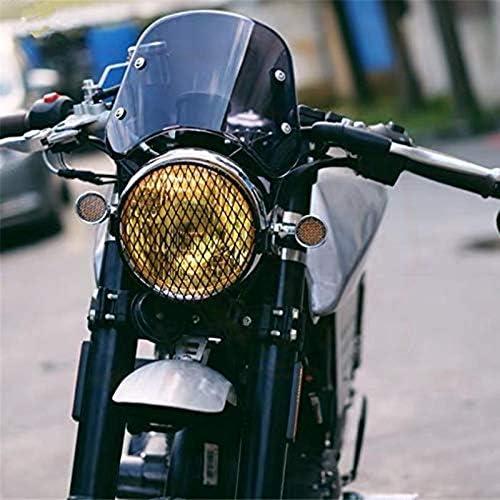 Fumo T100 2003-2017 Beauneo Cupolino Moto Cupolino Compatibile con Parabrezza per Triumph Bonneville 2001-2017