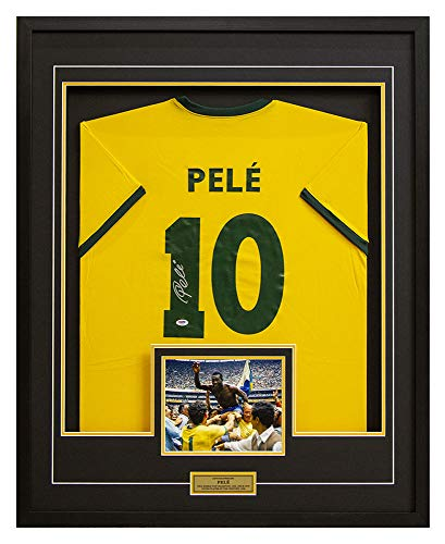 Pele Team Brazil Autographed FIFA World Cup