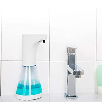 SMQ Dispensador de jabón de inducción automático de Cocina Fregadero higienizador de Manos para el hogar