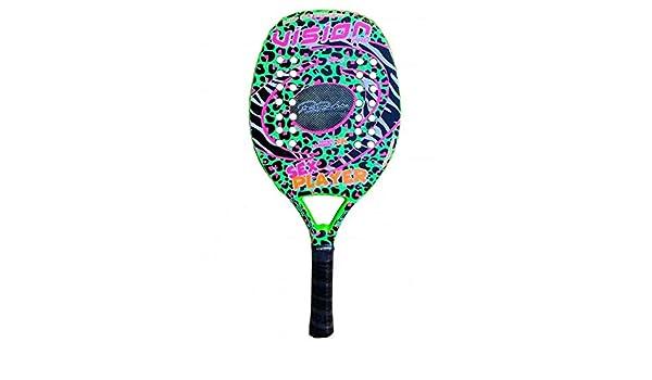 Vision Raqueta Beach Tennis Racket Sexo Player 2020: Amazon.es ...