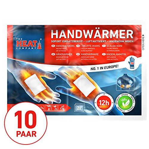 The HEAT company Handwarmers, Pocket Glove Warmers, 12 hours of Heat, 10 pairs