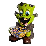 New Frankie Candy Holder Trick or Treat Bowl Frankenstein Halloween Decoration