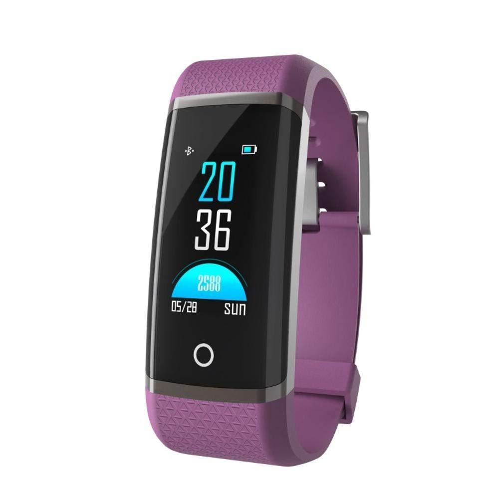 Ambiguity Fitness-Armband,Farbe Smart-Armband Multi-Motion-Modus umschalten Informationen Push Smart Remote-Kamera Armband