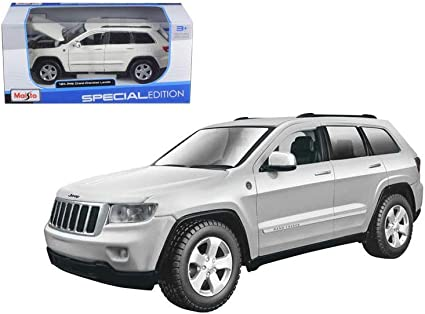 White Grand Cherokee >> New 1 24 W B Special Edition White Jeep Grand Cherokee Laredo Diecast Model Car By Maisto