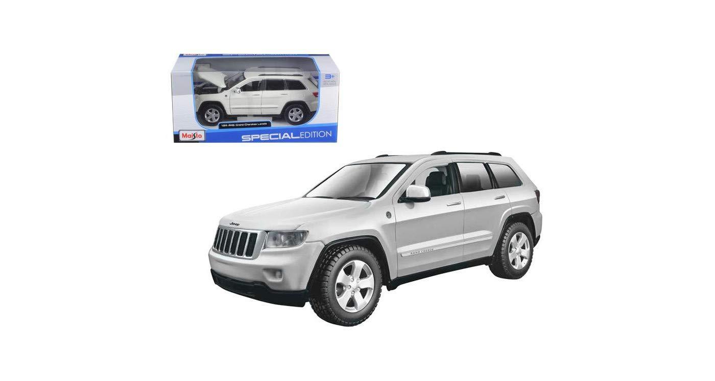 White Jeep Cherokee >> New 1 24 W B Special Edition White Jeep Grand Cherokee Laredo Diecast Model Car By Maisto