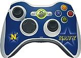 US Naval Academy Xbox 360 Wireless Controller Skin - US Naval Academy Blue Star Vinyl Decal Skin For Your Xbox 360 Wireless Controller