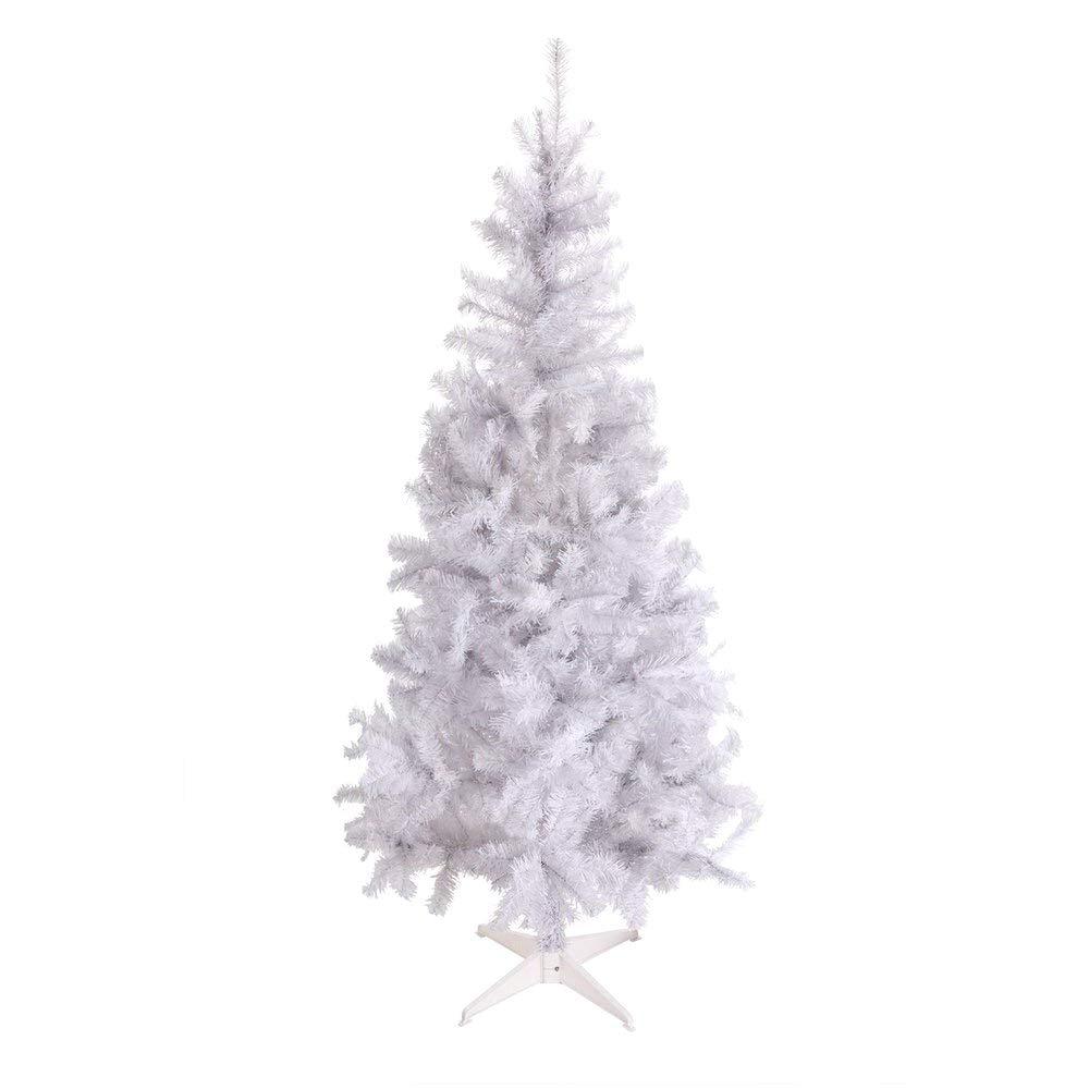 Amazoncom Artificial Christmas Tree This Fake Xmas White Tree 6