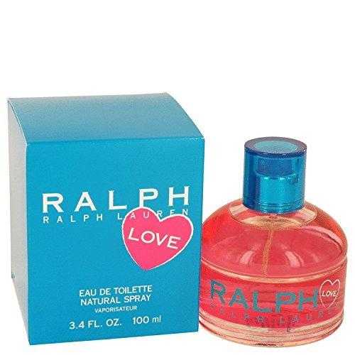 Ralph Lauren Love Perfume By Ralph Lauren Eau De Toilette Spray For Women 3.4 oz. 100 ml. [WP] Free! Ralph Hot Shower Gel