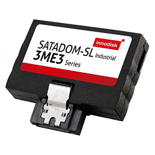 INNODISK DESSL-08GD09BC1SC SATA Disk On Module MLC SSD, SATADOM-SL 3ME3 w/Toshiba 15nm, Industrial, Standard Grade, 0C ~ +70 C, 8GB SATADOM-SL 3ME3 MLC