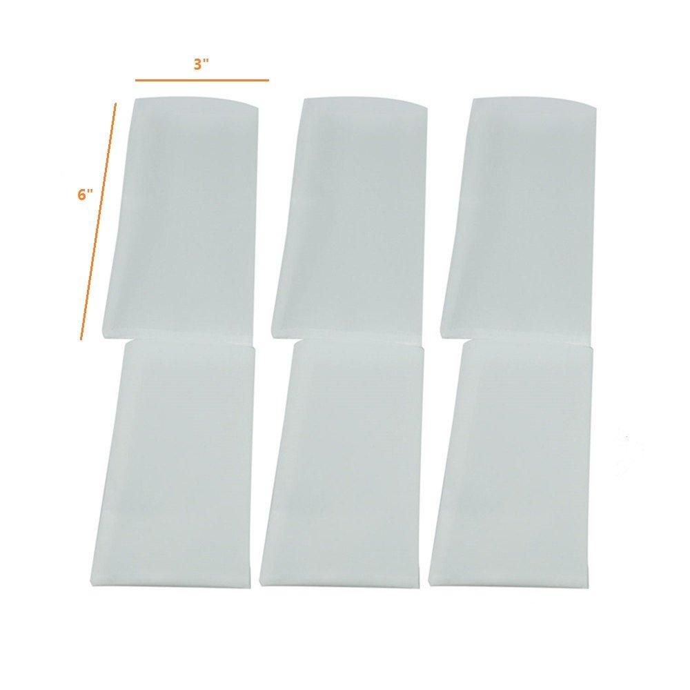 Rosin Press Bags, 25 Micron Rosin Bags, Rosin Filter Bag, Reusable Nylon Screen Press Bag-Extra Large 3''x 6'' (50 Pack) by WDHome (Image #3)