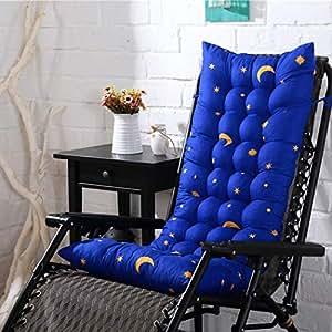Amazon.com: Tiowea - Cojín para silla de salón, azul rey ...