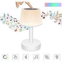 Lámpara de Mesa con Altavoz Bluetooth, Luz