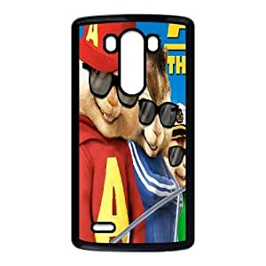 LG G3 Cell Phone Case Black Alvin and the Chipmunks NF9455241