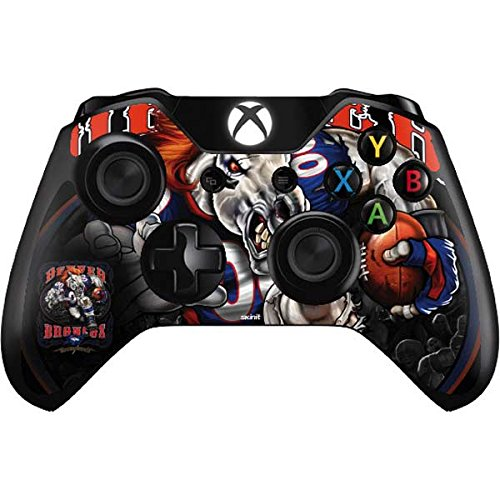 Skinit Denver Broncos Running Back Xbox One Controller Skin - Officially Licensed NFL Gaming Decal - Ultra Thin, Lightweight Vinyl Decal Protection