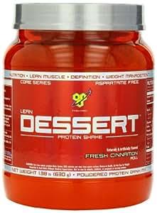 BSN LEAN DESSERT PROTEIN - Fresh Cinnamon Roll, 1.38 lb (18 Servings)
