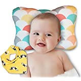 Baby Head Shaping Pillow - Newborn Infants Flat Head...