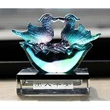 Feng Shui Liu Li Mandarin Ducks /Yuan Yang Statue for Love and Fidelity- Nice Packing Box