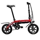 2016 Summer Richbit 14 In Red Mini Folding Ebike 250W *36V Folding Electric Bicycle V Brakes