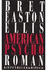 American Psycho Hardcover