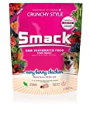 Smack Pet Organic Crunchy Raw Dehydrated Dog Food GMO/Gluten/Grain/Antibiotic Free (Very Berry Chicken, 2.5 kg/5.5 lb)