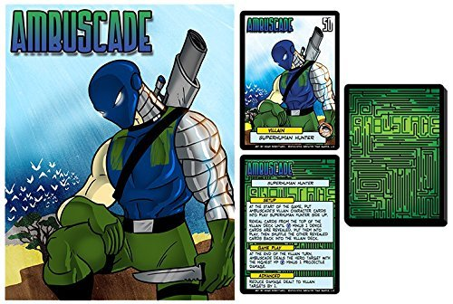 Greater Than Games Sentinels of The Multiverse Ambuscade Board Game [並行輸入品] B07SC61D92