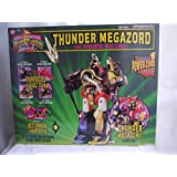 Power Rangers Deluxe Thunder Megazord by Ban Dai MMPR