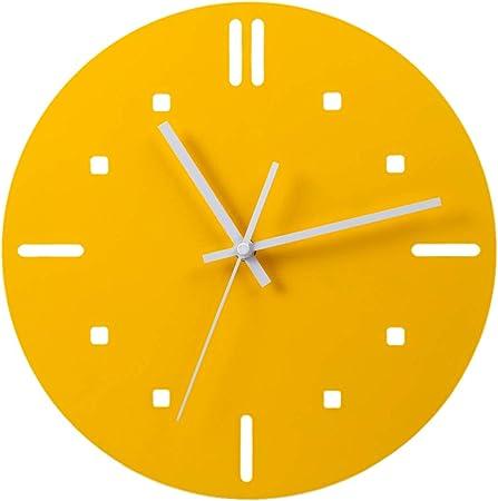 Anna Shop 30cm Orologio Da Parete Design Moderno Muro Rotondo Soggiorno Orologio Da Parete Muto Camera Da Letto Legno Amazon It Casa E Cucina