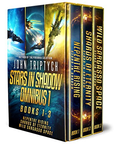 Cyborg Effect - Stars in Shadow Omnibus 1: Books 1-3: Nepenthe Rising, Shards of Eternity, Wild Sargasso Space (Stars in Shadow Box Set)