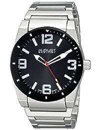 August Steiner Men's AS8152SSB Analog Display Swiss Quartz Silver Watch