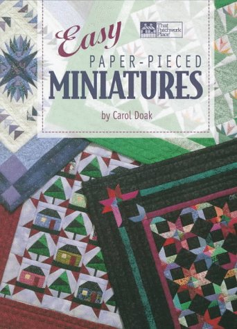 Easy Paper-Pieced Miniatures for sale  Delivered anywhere in USA