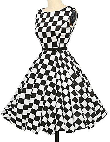 50s Retro Vintage Rockabilly IHRKleid® Elegant kleid Partykleider ...