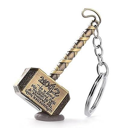 Llavero de martillo de Thor - Mjolnir: Amazon.es: Oficina y ...