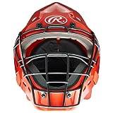 MacGregor Adjustable Catchers Helmet, Scarlet