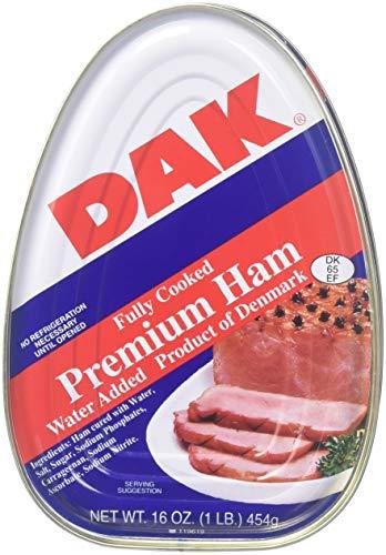 - Dak, Premuim Ham, 16 Oz (Pack of 6)