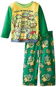 Teenage Mutant Ninja Turtles Little Boys' Ninja Selfie 2-Piece Pajama Set