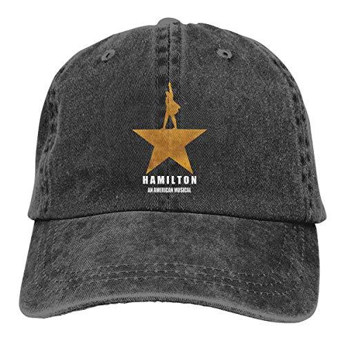 Baseball Musical (Hamilton an American Musical Adjustable Baseball Caps Denim Hats)