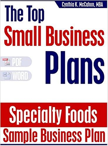 Sample specialty food business plan marketing mix essays