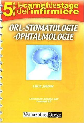 Livres Ophtalmologie ORL Stomatologie pdf ebook