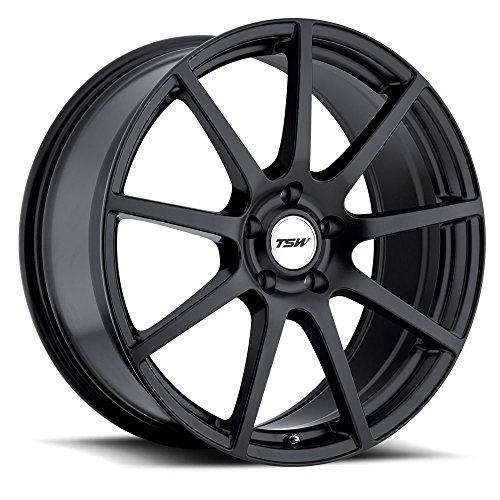 TSW Interlagos Matte Black Wheel (18x8.5