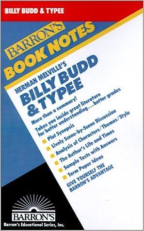 melville billy budd summary