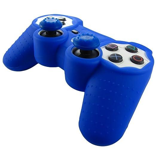 315 opinioni per Pandaren® Pelle cover skin per il PS3 controller(blu scuro) x 1 + pollice presa