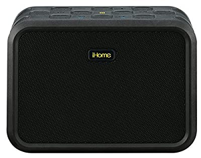 iHome Rugged Portable Waterproof Bluetooth Stereo Speaker