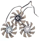 TOMUM 3 Pcs/lot 75mm PLA08015D12HH Graphicss Card Fan Dataland R9 290/290X Ball-And-Roller 42X42X42mm