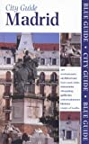 Blue Guide Madrid by Annie Bennett front cover