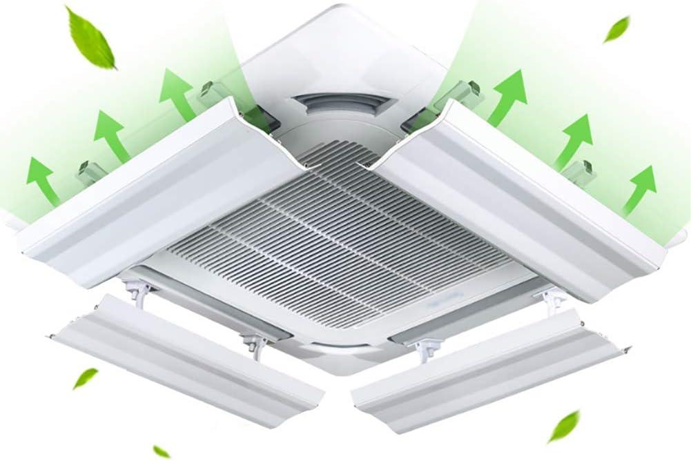 Aire Acondicionado Central Deflector De Viento Cubierta Universal Protector De Viento Anti Direct Soplado Suspensión De Techo De La Máquina Salida De Aire Frío Deflector: Amazon.es: Hogar