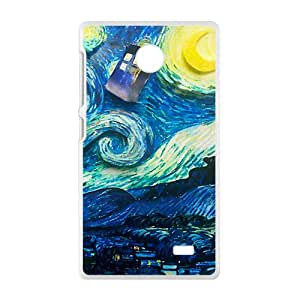 Van gogh starry night paintings Cell Phone Case for Nokia Lumia X