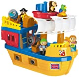 : Mega Bloks My Pirate Ship with Blocks and Figures