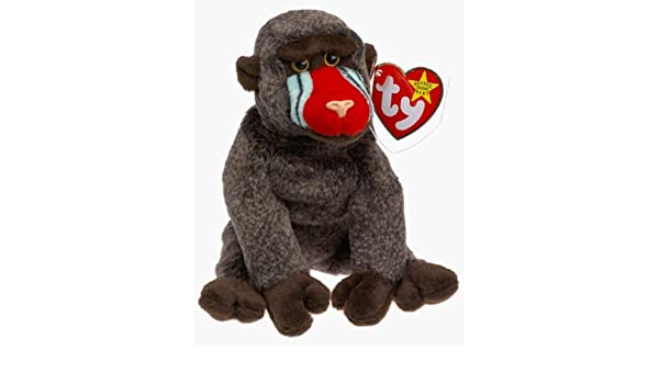 65bc8c7c387 Amazon.com  TY Beanie Baby - Cheeks the Baboon by Ty  Baby