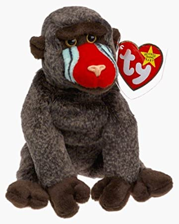 Amazon.com  TY Beanie Baby - Cheeks the Baboon by Ty  Baby dab59f731e7